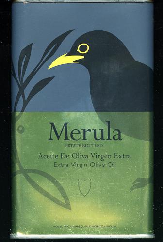 オリーブ油の缶(黒歌鳥)