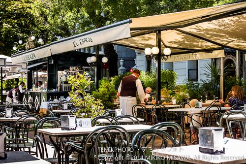 レストラン「エル・エスペホ」のカフェ・テラス 4626