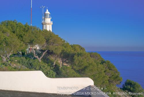 ナオ岬の灯台(バレンシア地方・ハベア) 15241
