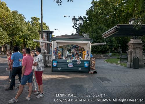 プラド通りのアイスクリームを売る店  14251