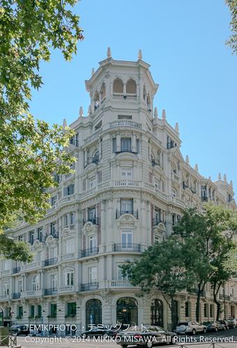 「パセオ・デ・ラ・カステジャーナ」13番地(1919年~1923年にプロモーターであるエンシナーレス公爵によって建設された賃貸住宅) 15003