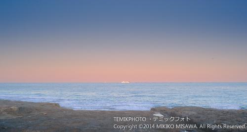 夕暮れの海 (ハベア湾)  15246