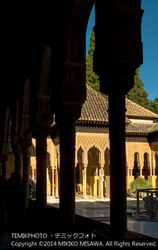 ライオンの中庭・アルハンブラ宮殿(グラナダ) 22121