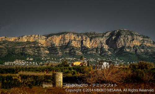 地中海沿岸の山岳地帯・ベティカ山系(バレンシア地方) 24537