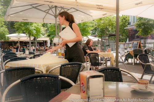 オープン・カフェ(マドリード)  32802