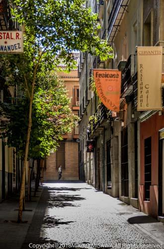 旧市街の路地(マドリード)  15729