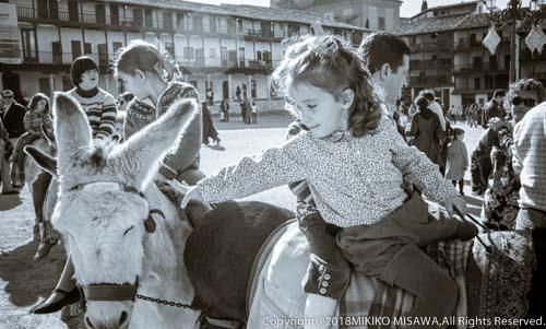 ロバ・タクシー:スペイン・チンチョン村  25791