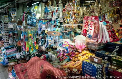 土産物店の店先:江ノ島・弁財天仲見世通り  28929